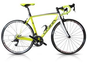 bici gialla
